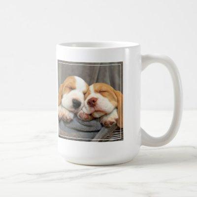 Sleepy Puppies Coffee Mug