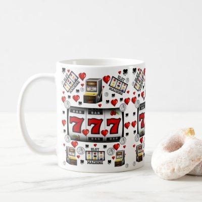 Slot Machine Casino Mug