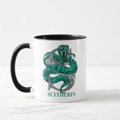 SLYTHERIN™ Crosshatched Emblem Mug