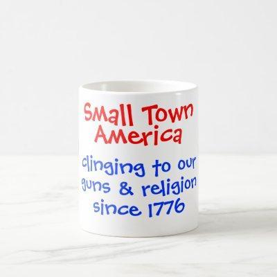 Small Town America Mug