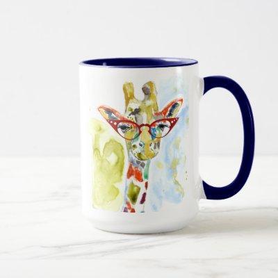 Smarty-Pants Giraffe Mug