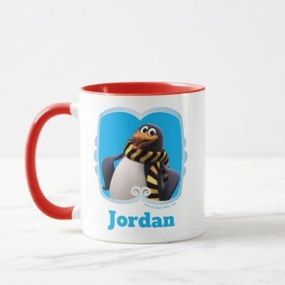 Smiling Topper the Penguin Mug