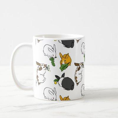 Snacking Bunnies Coffee Mug