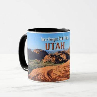 Snow Canyon State Park Utah Mug