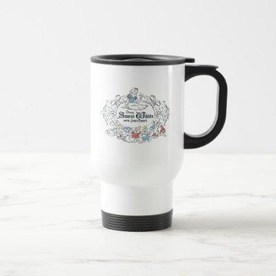 Snow White and the Seven Dwarfs   Fairest of All Travel Mug