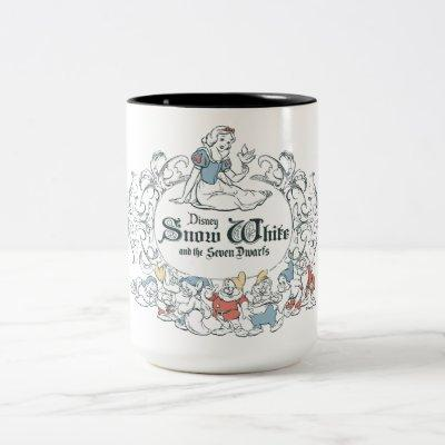 Snow White and the Seven Dwarfs   Fairest of All Two-Tone Coffee Mug