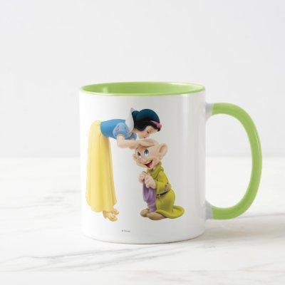 Snow White Kissing Dopey on the Head Mug