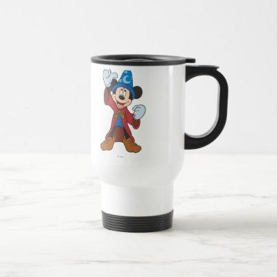 Sorcerer Mickey Mouse Travel Mug