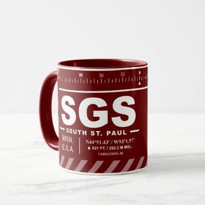 South St Paul Municipal Airport Fleming Field Mug