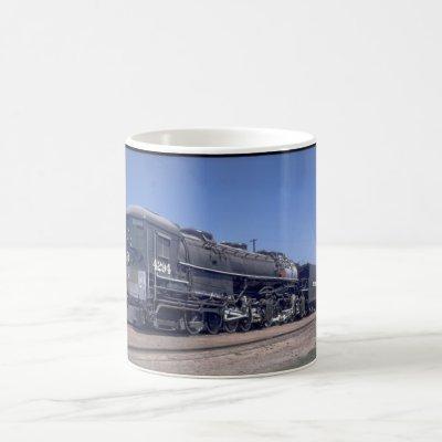 SP 4-8-8-2 cab, forward Mallet #4294_Trains Coffee Mug