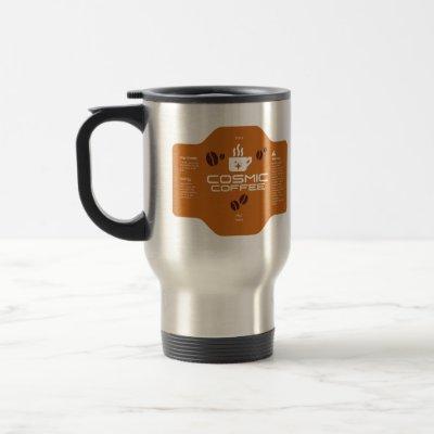 Space Engineers Travel/Commute Style Cosmic Coffee Travel Mug
