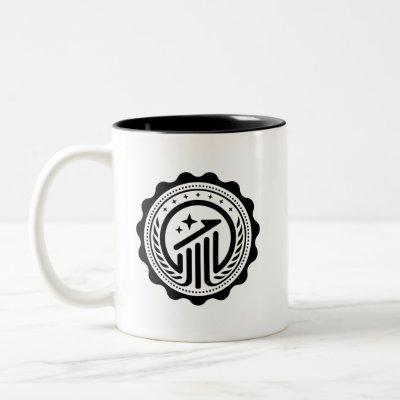 Space Engineers Two-Tone Mug Style Economy badge