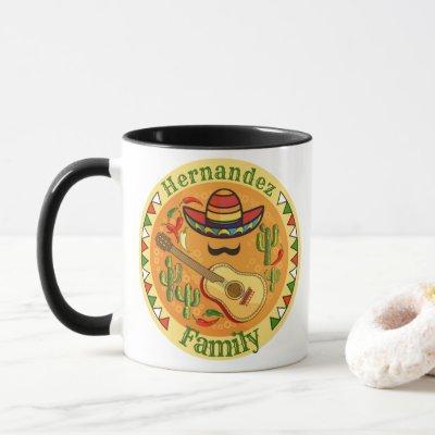 Spanish Fiesta Personalized NAME Fun Cinco De Mayo Mug