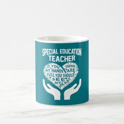 Special Education Teacher Coffee Mug
