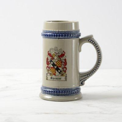 Spencer Coat of Arms Stein