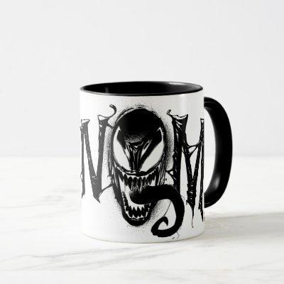 Spider-Man | Venom Name Logo Mug