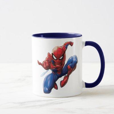 Spider-Man   Web-Shooting Leap Mug