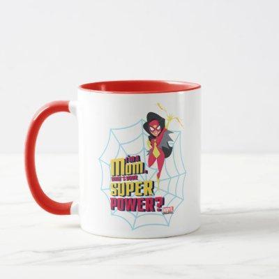"Spider-Woman ""I'm A Mom"" Mug"
