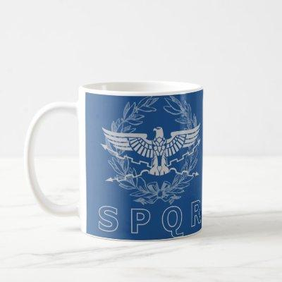 SPQR The Roman Empire Emblem Mug