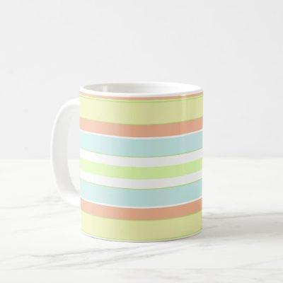Spring Pastels Stripe Mug
