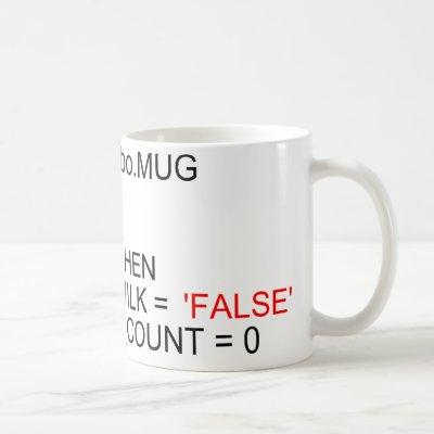 SQL Server Programmers Coffee Mug