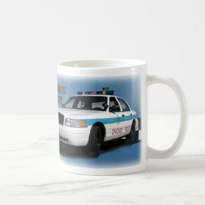 "Squad Checkerband ""Chicago's Finest"" (close-up) Coffee Mug"
