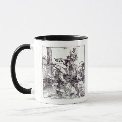 St.Christopher carrying the Infant Christ, 1511 Mug