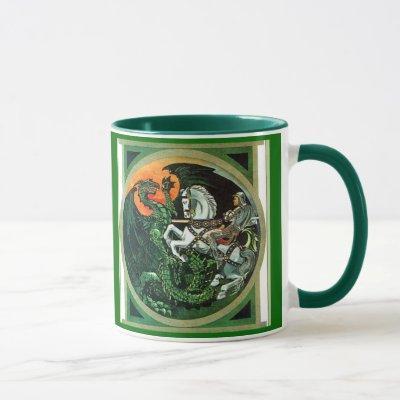 St. George and the Dragon - Mug