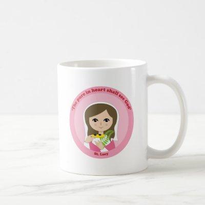 St. Lucy Coffee Mug