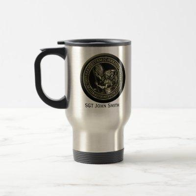 St Michael Emblem Travel Mug