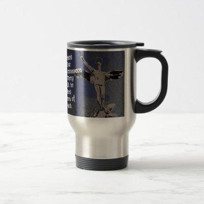 St. Michael - Patron Saint of Police Officers Travel Mug