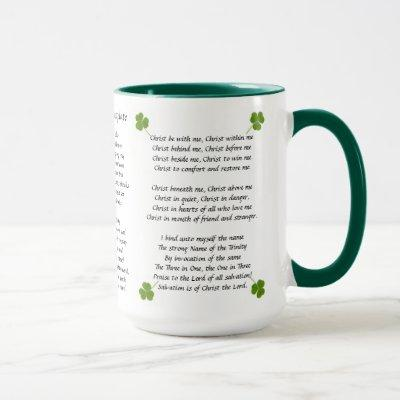 St Patrick's Breastplate Mug