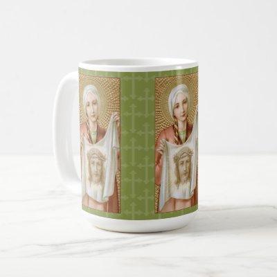 St. Veronica of Jerusalem (JM 60; Style 3) Coffee Mug