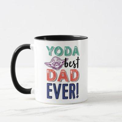 Star War | Yoda Best Dad Ever Mug
