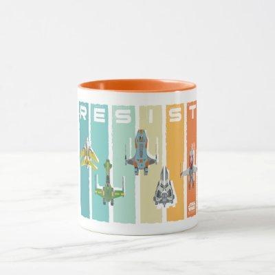 "Star Wars Resistance | Ace Squadron ""Resist"" Mug"