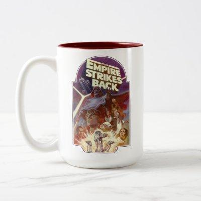 Star Wars: The Empire Strikes Back Group Shot Two-Tone Coffee Mug