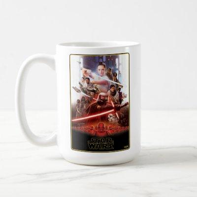 Star Wars: The Rise Of Skywalker Theatrical Art Coffee Mug