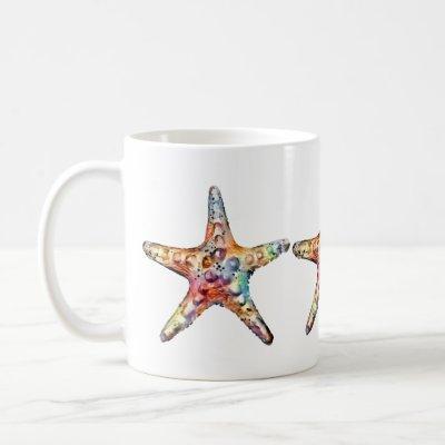 Starfish Rainbow Coffee Mug