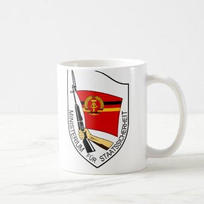 Stasi Emblem Mug