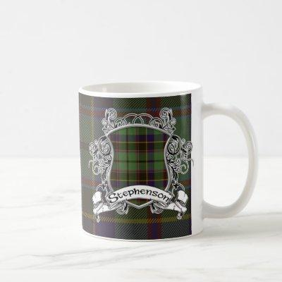 Stephenson Tartan Shield Coffee Mug