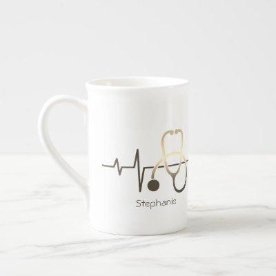 Stethoscope Heartbeat Medical Mug