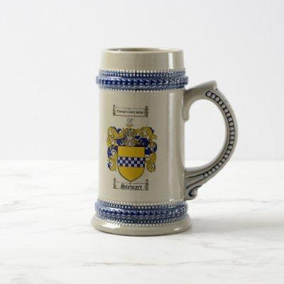 Stewart Coat of Arms Stein