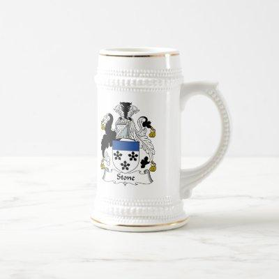 Stone Family Crest Beer Stein