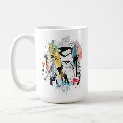 Stormtrooper Graffiti Collage Coffee Mug