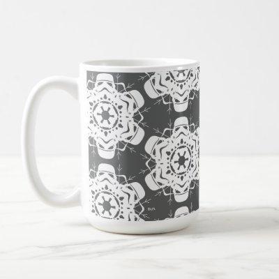 Stormtrooper Snowflake Design Coffee Mug