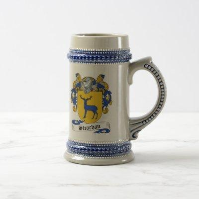 Strachan Coat of Arms Stein - Family Crest