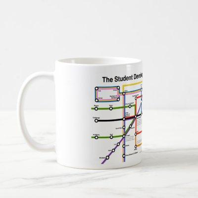 Student Development Transit System Map Mug