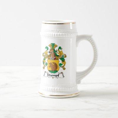 Stumpf Family Crest Beer Stein