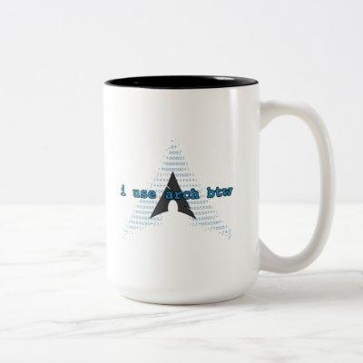 ~:$sudo pacman -Ss coffee --noconfirm (Fetch logo) Two-Tone Coffee Mug
