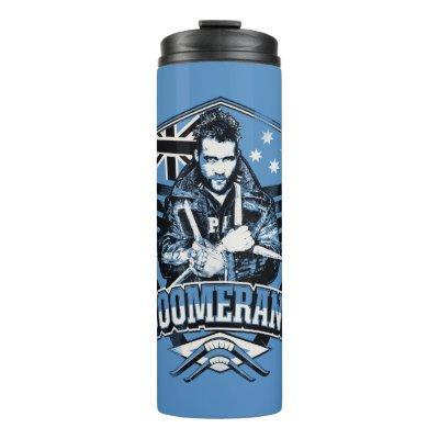 Suicide Squad | Boomerang Badge Thermal Tumbler